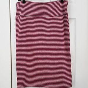 LuLaRoe Cassie Skirt, size medium